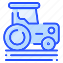 agriculture, farm, field, land, tractor, trasnport, vehicle