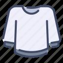 clothes, fashion, jacket, sweater, sweatshirt icon