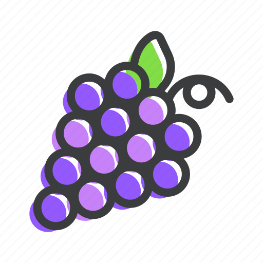 berry, food, fruit, grapes, healthy, vine, wine icon