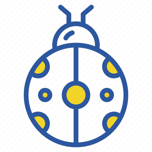 autumn, bug, fall, insect, ladybug, spring icon