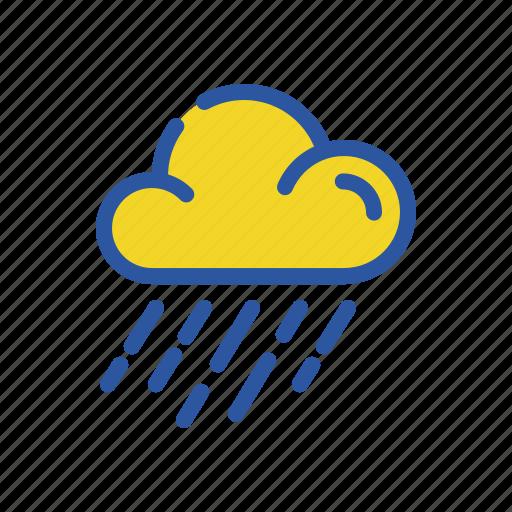 Autumn, cloud, overcast, rain, rainfall, rainy, weather icon - Download on Iconfinder
