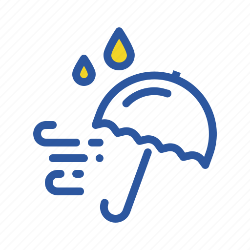 Autumn, fall, rain, rainy, season, umbrella, weather icon - Download on Iconfinder