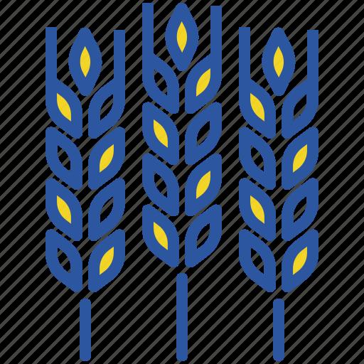 Agriculture, crop, food, gluten, grain, harvest, wheat icon - Download on Iconfinder