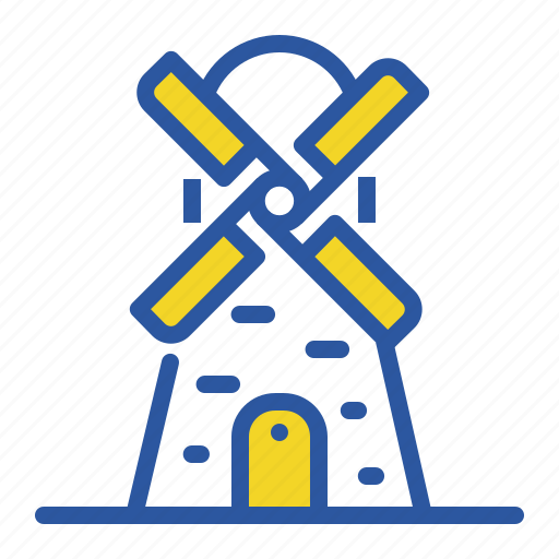 Electricity, energy, turbine, wind, windmill icon - Download on Iconfinder