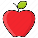 apple, autumn, food, fruit, nature, produce, season icon