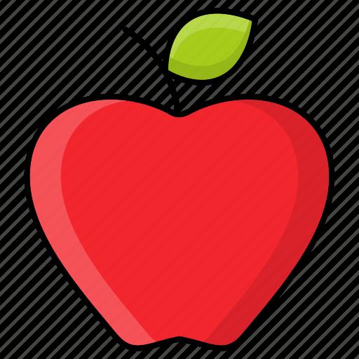 apple, autumn, food, fruit, nature, produce, season icon