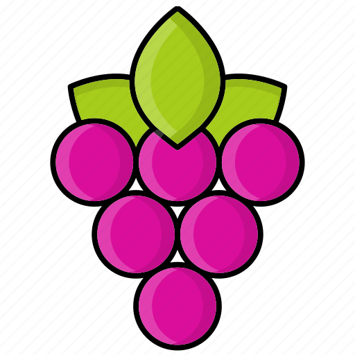 Autumn, berry, fruit, grape, leaf, nature icon - Download on Iconfinder