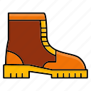 autumn, boots, footwear, shoes icon