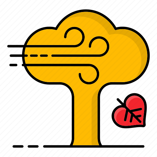 Autumn, fall, leaves, tree, trunk icon - Download on Iconfinder