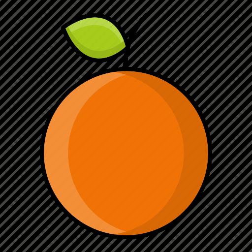 Autumn, fruit, nature, orange, season, sweet icon - Download on Iconfinder