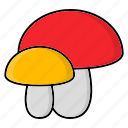 autumn, mashroom, season, vegetable icon