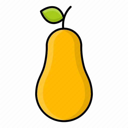 autumn, fruit, nature, pear, produce, season icon