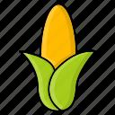 corn, food, grain, maize, staple, sweet