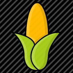 corn, food, grain, maize, staple, sweet icon