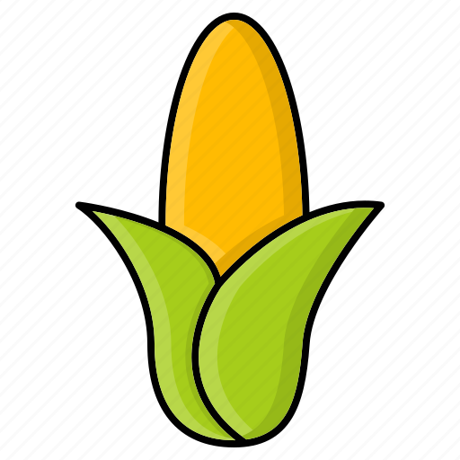 Corn, food, grain, maize, staple, sweet icon - Download on Iconfinder