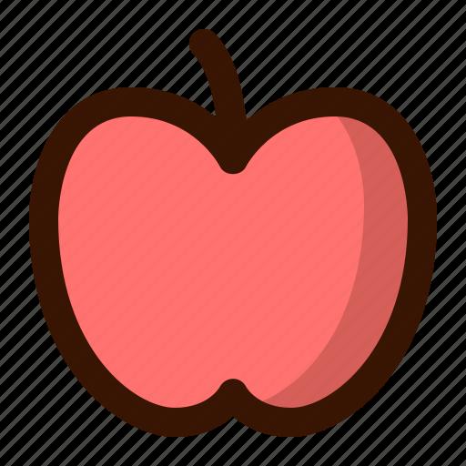 apple, autumn, fall, food, fruit, healthy, sweet icon