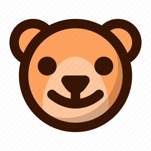 animal, autumn, bear, fall, nature, teddy, wild icon
