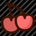 autumn, cherries, fall, food, fruit, healthy, sweet