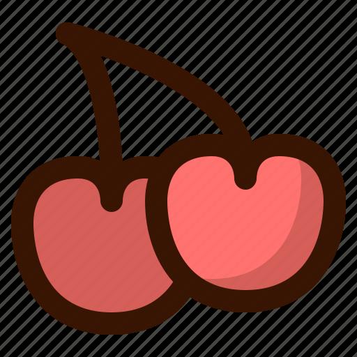 autumn, cherries, fall, food, fruit, healthy, sweet icon