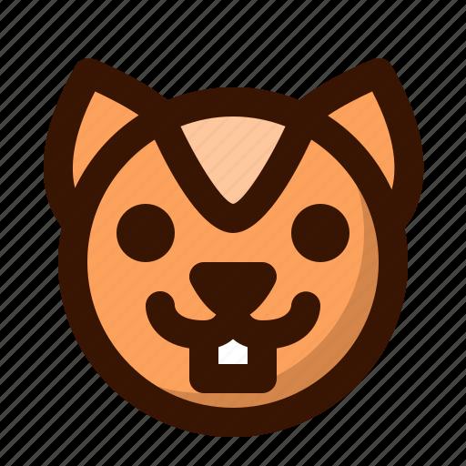 animal, animals, autumn, chipmunk, cute, fall, squirrel icon