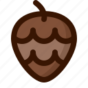 autumn, fall, food, fruit, healthy, nut, pineapple icon