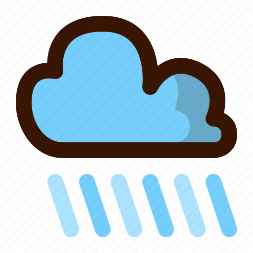 autumn, cloud, clouds, cloudy, fall, rain, weather icon