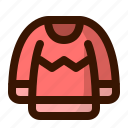 autumn, christmas, clothing, fall, fashion, sweater, winter icon