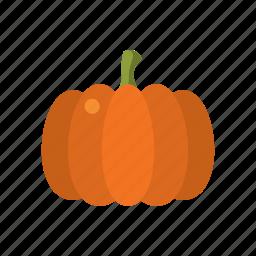 autumn, food, helloween, orange, pumpkin, season, thanksgiving icon