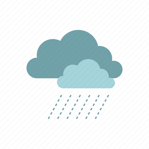 autumn, blue, cloud, rain, raindrop, season, weather icon