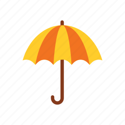 autumn, protection, rain, season, umbrella, water, weather icon