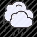 autumn, climate, fall, forecast, rainy, weather icon