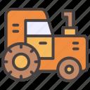 agrimotor, autumn, fall, farm, farming, tractor