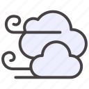 autumn, cloud, fall, weather, wind, windy icon