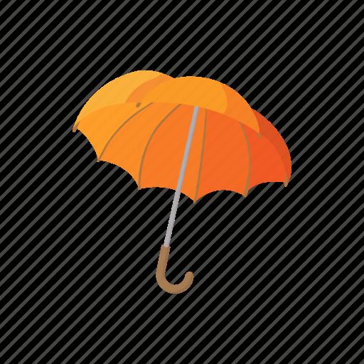 cartoon, fashion, open, protection, rain, umbrella, weather icon