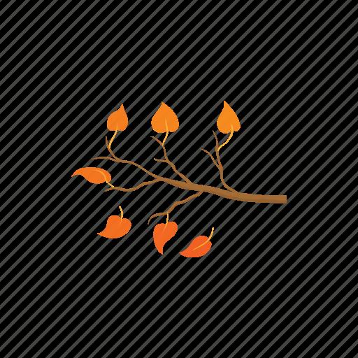 autumn, branch, leaf, nature, plant, season, tree icon