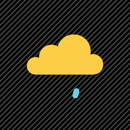 autumn, cloud icon