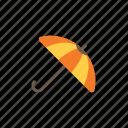 autumn, umbrella icon