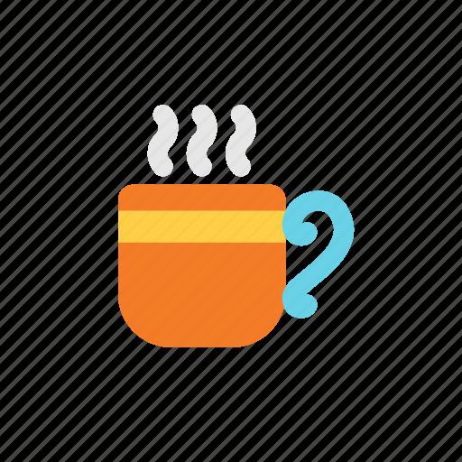autumn, coffee, hot icon