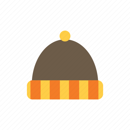 autumn, hat icon