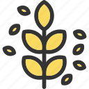 autumn, nature, plant, tree, yard icon