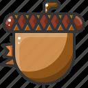 acorn, food, healthy, vegetable icon