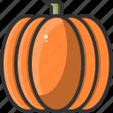 food, halloween, healthy, pumpkin, restaurant, vegetable icon