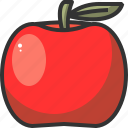 apple, food, fresh, fruit, health, healthy icon