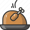 cook, cooking, food, kitchen, meal, restaurant, turkey icon