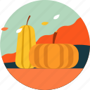 activity, autumn, festival, fruit, leaf, pumpkin, season icon