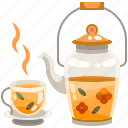 coffee, cup, drink, food, hot, mug, tea icon