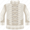 clothing, fashion, garment, jersey, pullover, shirt, sweater icon