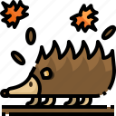 animal, animals, kingdom, life, porcupine, wild, zoo icon