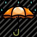 protection, rain, rainy, security, umbrella, weather icon