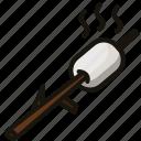 food, marshmallow, sweet icon